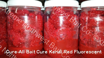 Cure-All Bait Cure Kenai Red Fluorescent